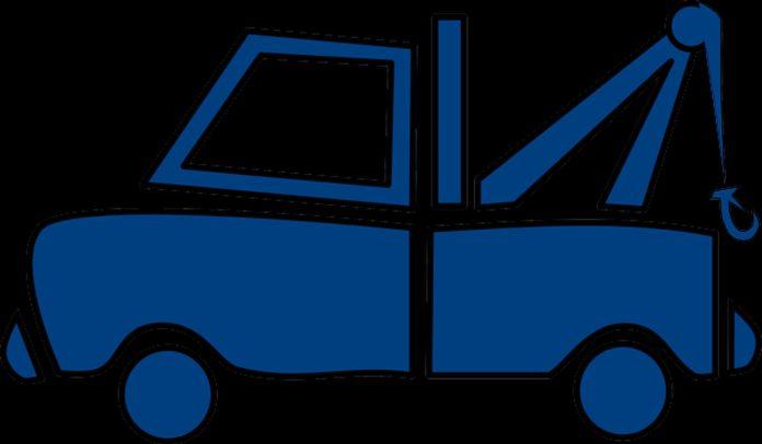 Transport samochodu na autolawecie