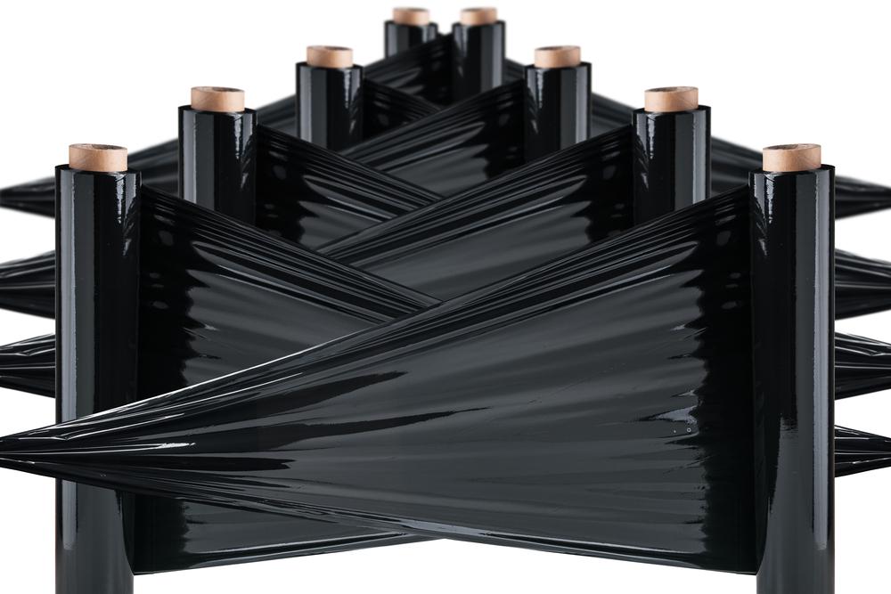 Folia stretch czarna